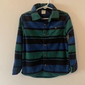 Gymboree Fleece Button Down Size 4T
